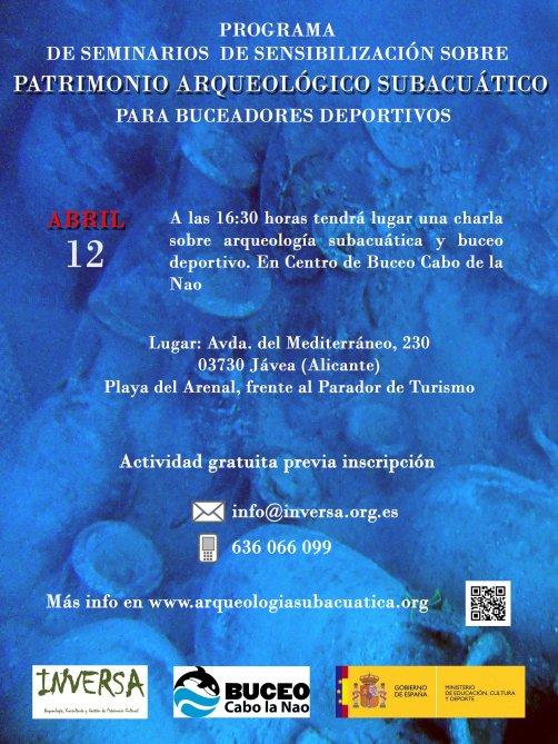 Poster arqueologia subacuatica BAJA
