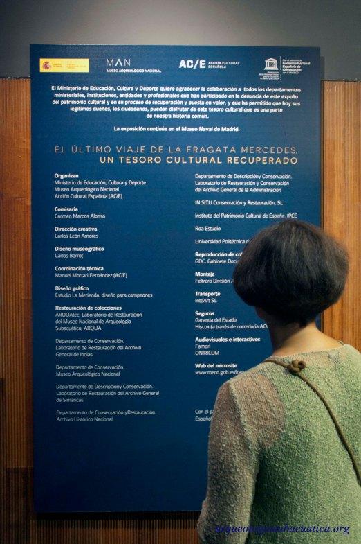 Ficha técnica de la exposición