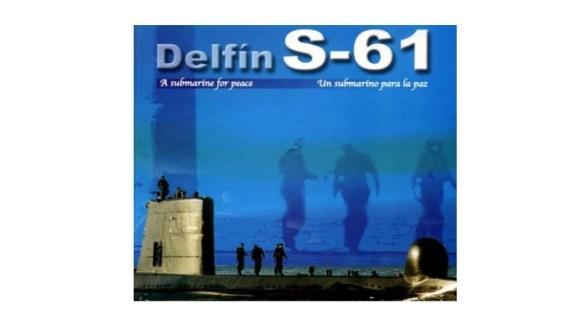 Libro el Delfín S-61, un submarino para la paz