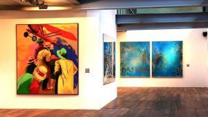 «Tierra, mar, aire», exposición sobre los fondos artísticos de la colección de Aena