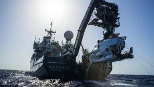 LUIS LAMAR, WOODS HOLE OCEANOGRAPHIC INSTITUTION El buque podría haberse ido a pique debido a las fuertes tormentas de la zona